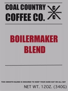 Coal Country Coffee Boiler Maker Blend Roast Coffee Image 1 Coffee 1