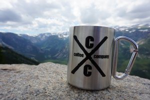 10oz Stainless Steel Carabiner Mug