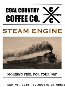 Coal Country Coffee Steam Engine Roast Coffee 3 Image 1